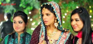 Sanam Saeed Wedding Pic in a Drama
