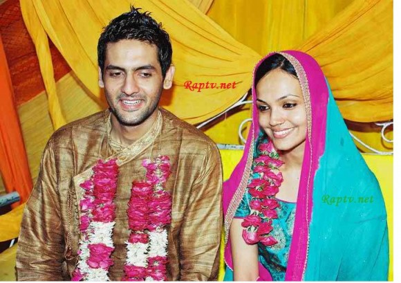 Amina Sheikh and Mohaib Mirza  wedding