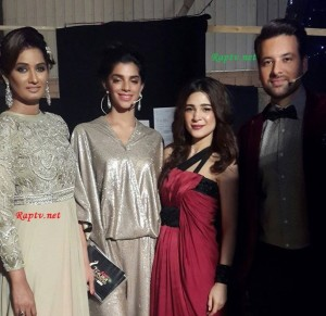 Sanam Saeed with Ayesha Omar